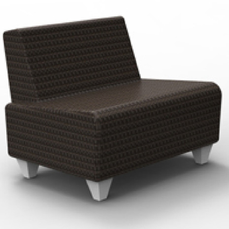 Wicker S60 Lounge Seat