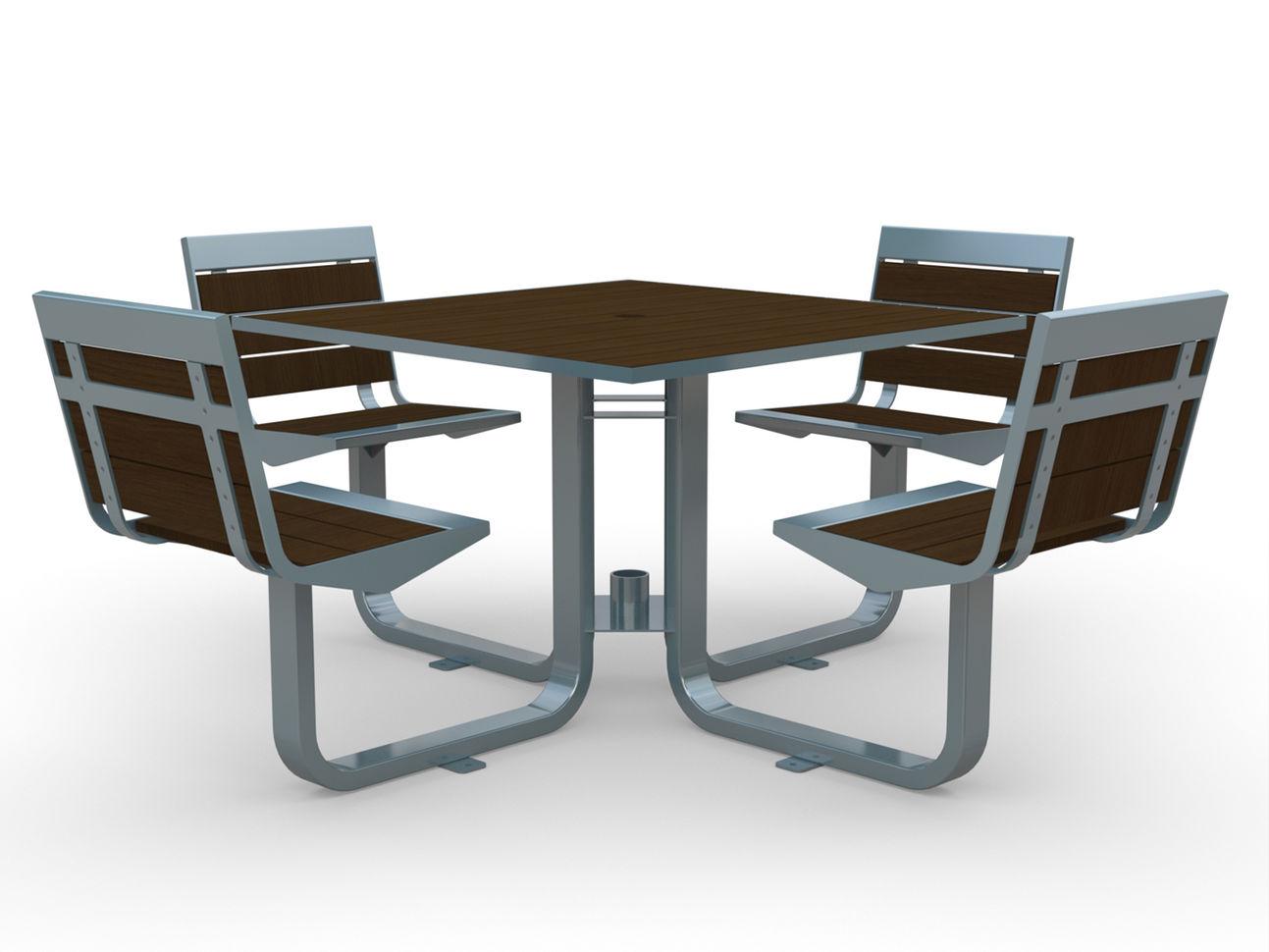 Element Swivel Picnic Table