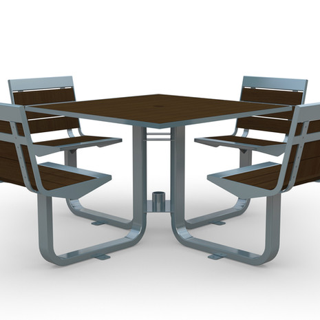 Element Swivel Picnic Table