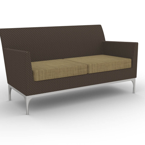 Wicker S40 Loveseat