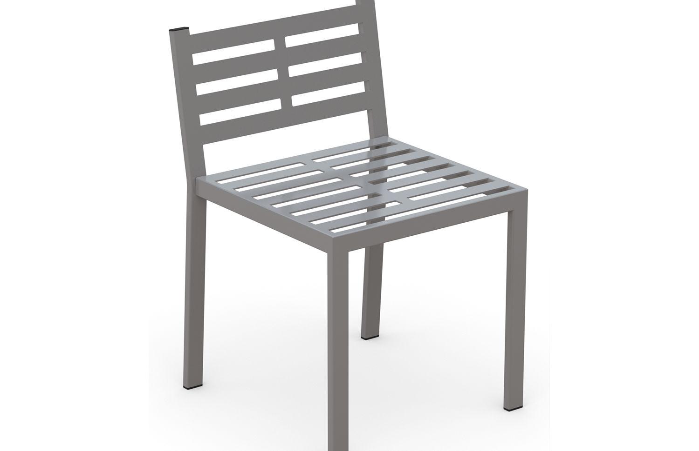 San Antonio Dining Chair in metal