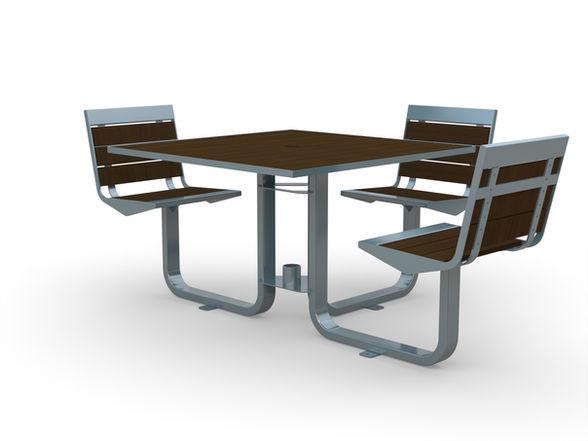 Element Swivel Picnic Table ADA Compliant