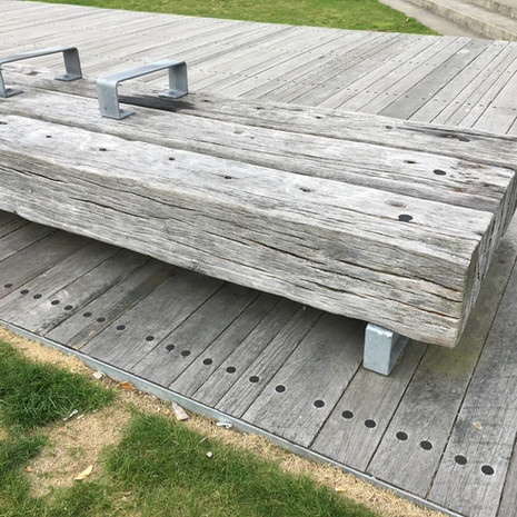 Mammoth Beam Bench