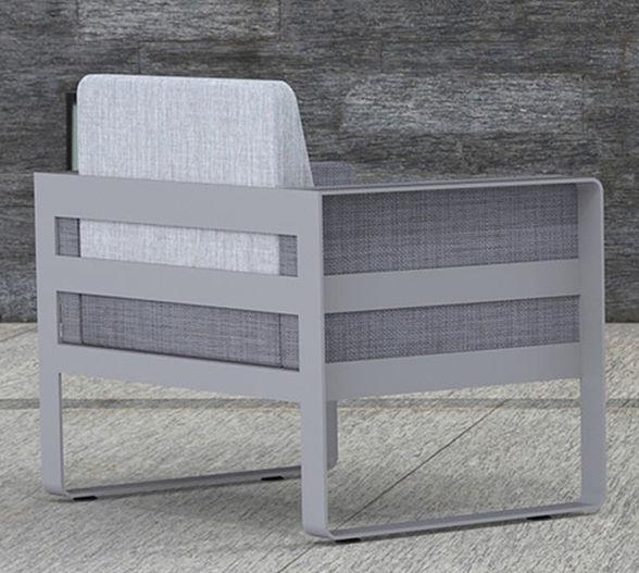Fero lounge chair in gray