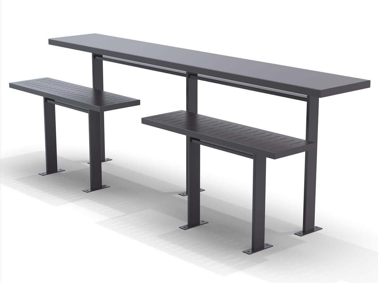 10' San Antonio Rail System with seating