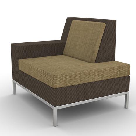 Wicker S50 Lounge Seat