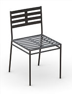 thumbnail of metal dining chair