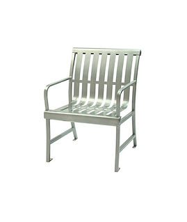 metal dining chair white background