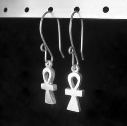 Ankh Drop Earrings