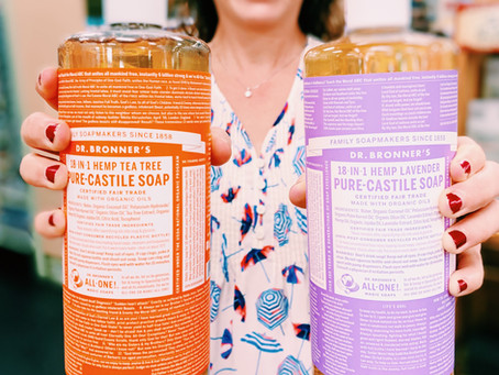 Embrace all the possibilities with Castile soap