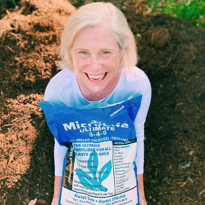 Feed your plants with organic fertilizer