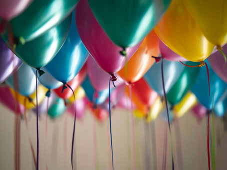 Skip helium balloons and choose an eco alternative at your next party