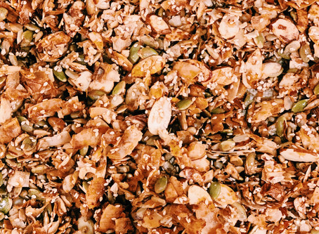 Have a relaxing weekend and enjoy some homemade granola