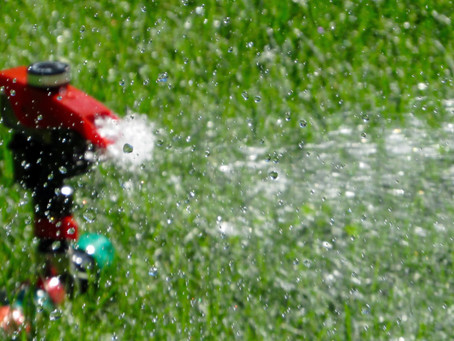 Be hands-on with your sprinkler system