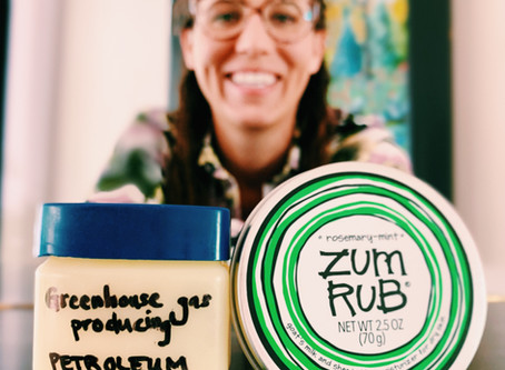 Zum your way from petroleum jelly to all natural