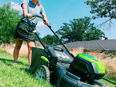 Electrify your lawn equipment