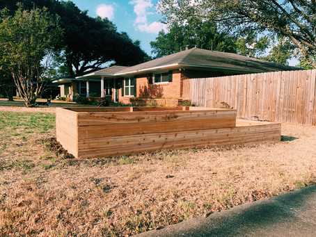 Build your own veggie beds