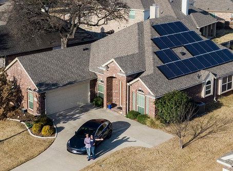 If you have a sunny roof, consider going solar