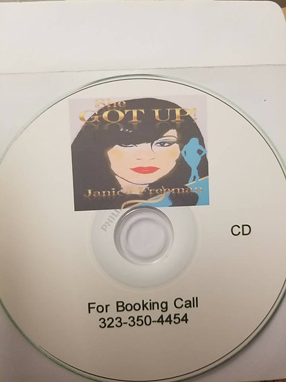 She Got Up Audio Testimony CD