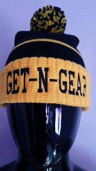 GNG Beanie BLK/GOLD