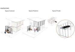 Flexible house fronts