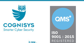 ANNOUNCEMENT - Cognisys Group is now ISO9001 accredited