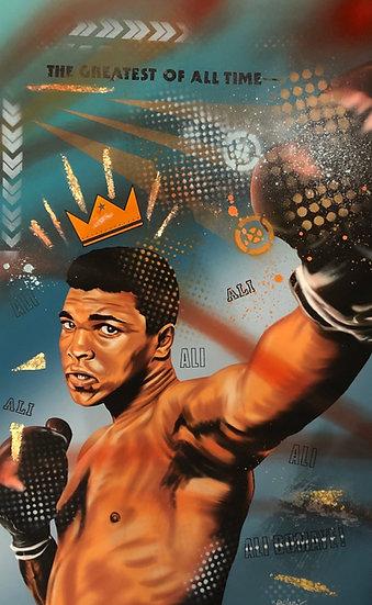 Ali Hand embellished print - The GOAT