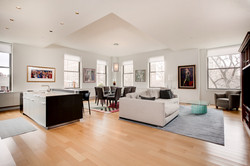 Downtown Philadelphia Living Room