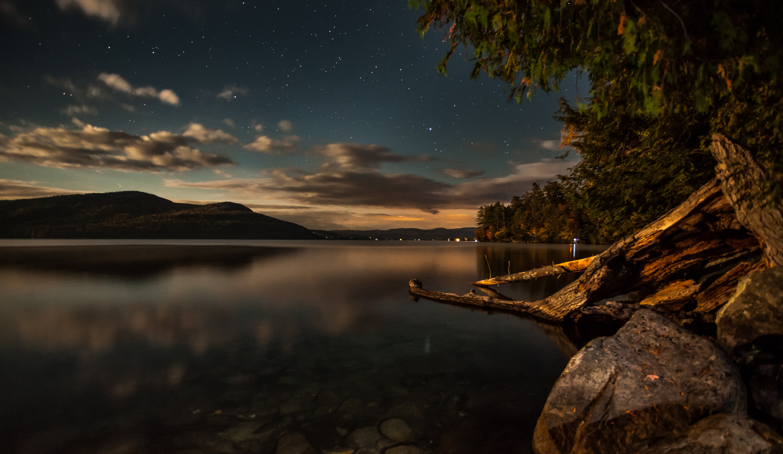 Lake George by Moonlight