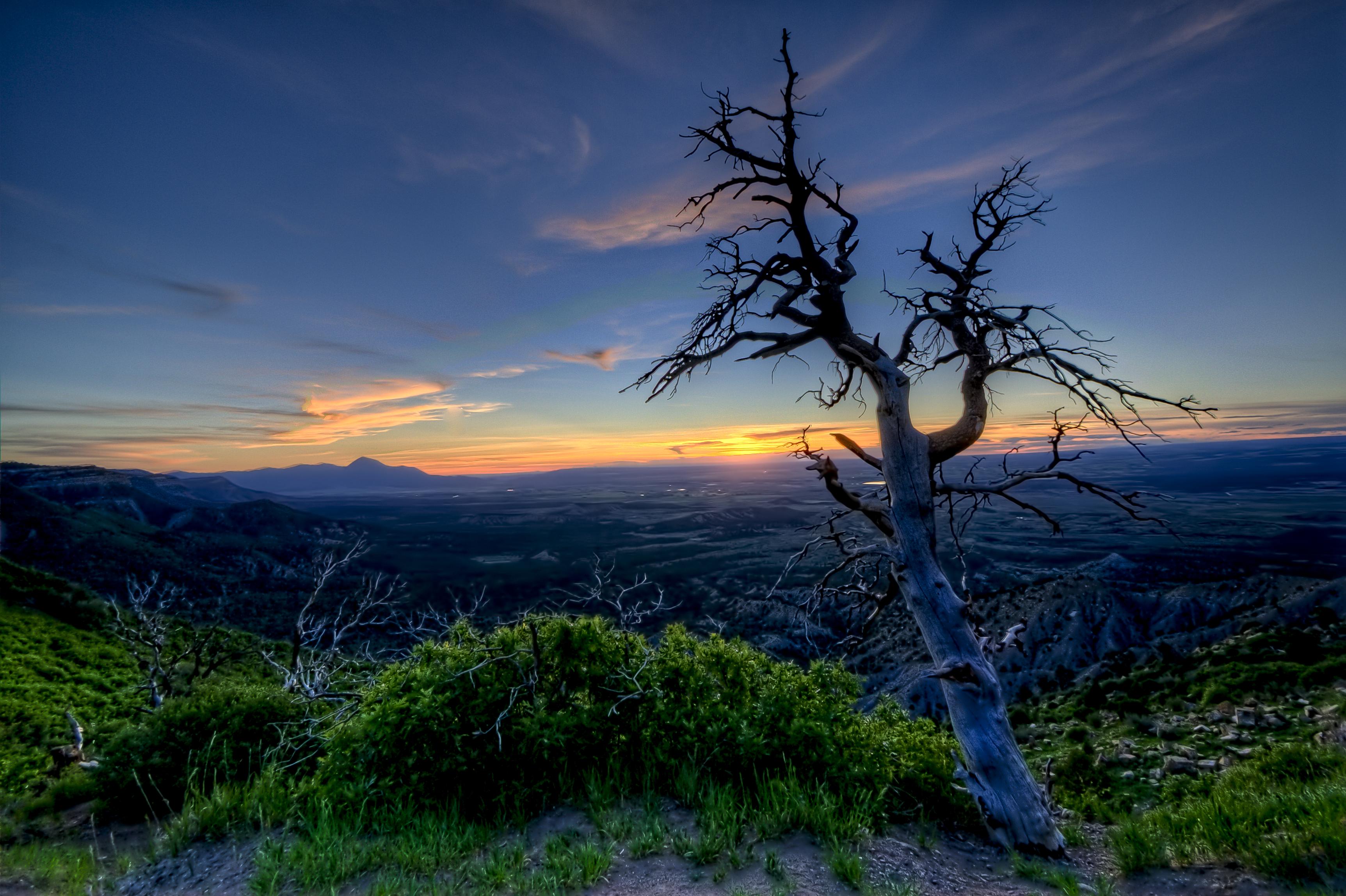 Sunset in Mesa Verde