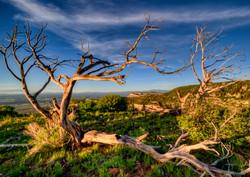 Sunset at Mesa Verde, CO