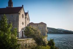 Monastery on Korcula Island, Croatia