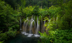 Plitvice National Park in Slovenia