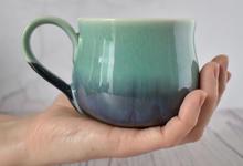 Porcelain Nordic Sky mug