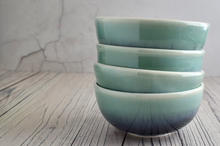 Porcelain Nordic Sky bowls