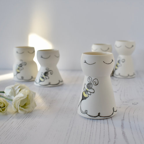 Bumble Bee Vase, Extra Small
