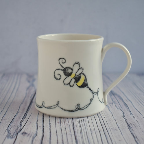 Bumble Bee Coffee Cup