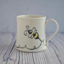 Porcelain Bumble Bee mug
