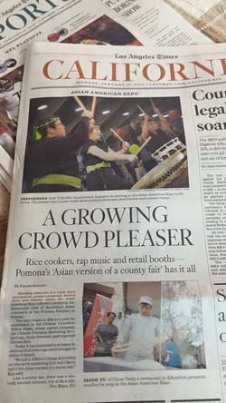 LA Times feature!