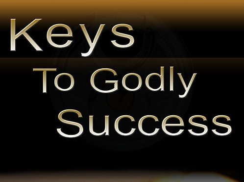 Keys To Godly Success - CD