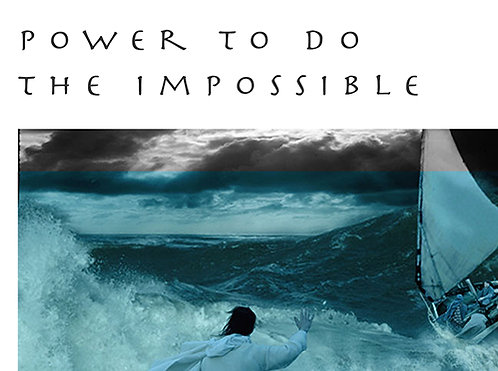 Power To Do The Impossible - CD