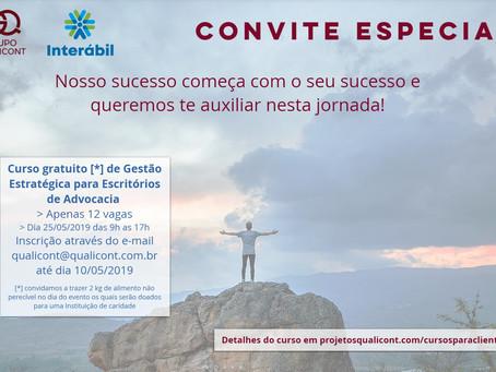 Novo curso gratuito e presencial para clientes INTERÁBIL/QUALICONT já tem data