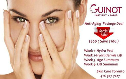 Skin Care Guinot Anti-Aging Package Deal