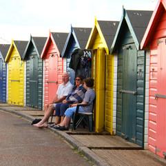 Good old British beach huts