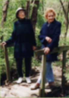 Carolyn Blaas and Mariana Remple, two of the Co-founders of Hidden Valley Camp