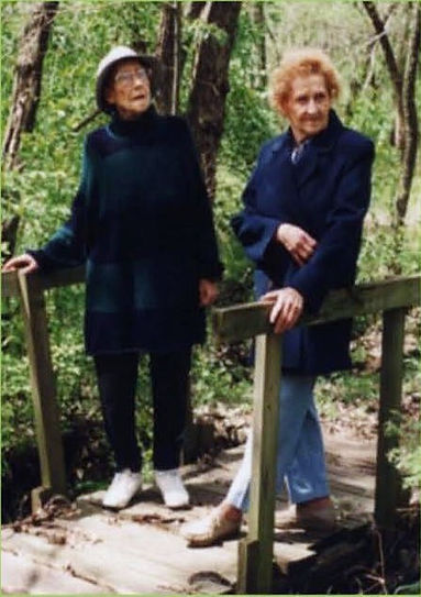 Carolyn Blaas and Mariana Remple