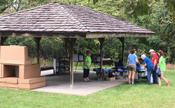 A photo of the Southern Shade structure.
