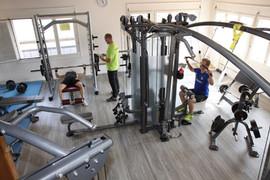 Workout-/Freihantelbereich