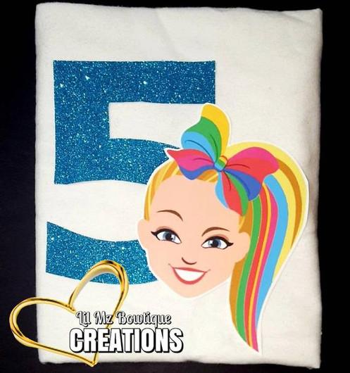 Inspired Jojo Siwa Birthday Shirt