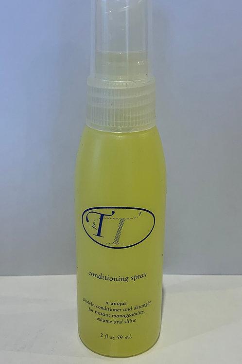 Conditioning spray